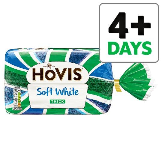 Grocemania Grocery Delivery London| Hovis Soft White Thick Bread 800g