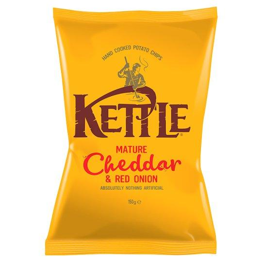 Grocemania Grocery Delivery London| Kettle Mature Cheddar & Onion 100g