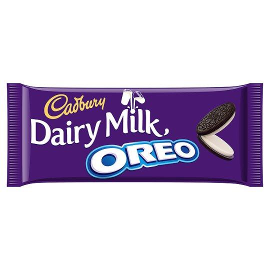 Grocemania Grocery Delivery London| Cadbury Dairy Milk Oreo 120g