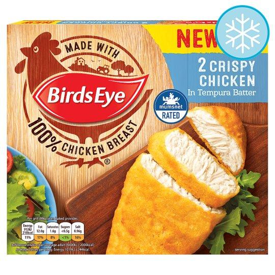 Grocemania Grocery Delivery London| Birds Eye 2 Crispy Chicken 170g