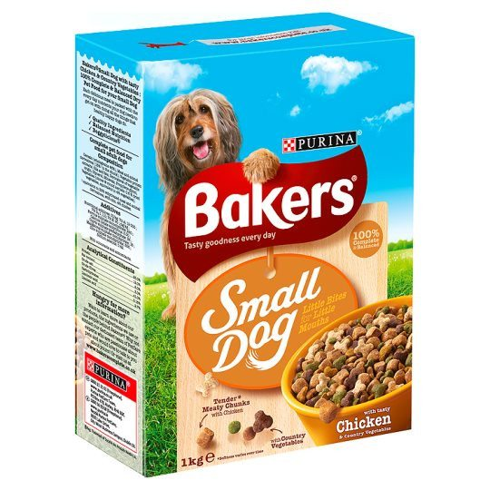 Grocemania Grocery Delivery London| Bakers Complete Small Dog 1kg