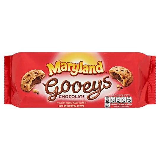 Grocemania Grocery Delivery London| Maryland Gooeys Chocolate 160g