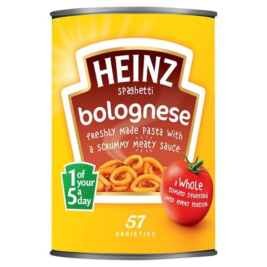 Grocemania Grocery Delivery London| Heinz Spaghetti Bolognese 400g