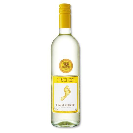 Grocery Delivery London - Barefoot Pinot Grigio 750ml same day delivery