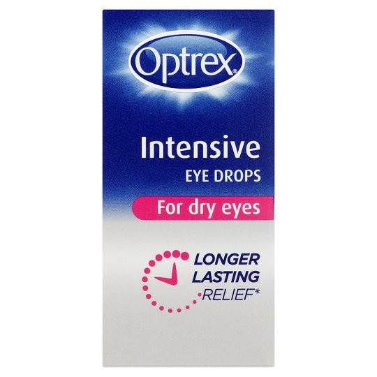 Grocemania Grocery Delivery London| Optrex Intensive Eyedrops 10ml