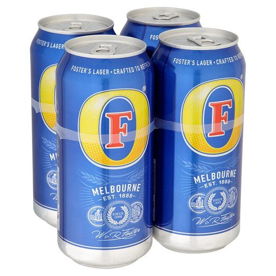 Grocemania Grocery Delivery London| Fosters 4x440ml