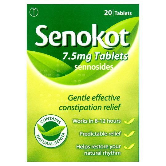 Grocemania Grocery Delivery London| Senokot Natural Senna Laxative 20 Tablets