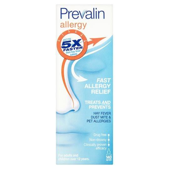 Grocemania | Prevalin Allergy Relief Spray | Online Grocery Delivery London