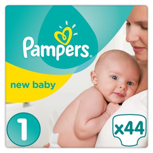 Grocemania Grocery Delivery London| Pampers New Baby Size 1 Carry Pack 23 Nappies