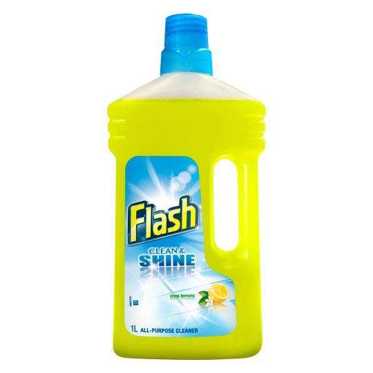 Grocemania | Flash Liquid All Purpose Floor Cleaner Lemon 1L | Online Grocery Delivery London