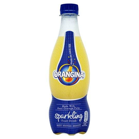 Grocemania | Orangina Fruit Drink 420ml | Online Grocery Delivery