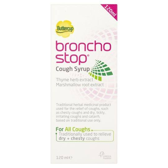 Grocemania Grocery Delivery London| Bronchostop Syrup 120ml