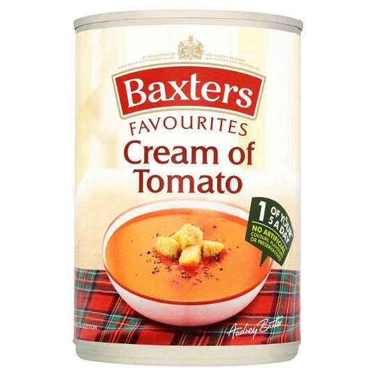 Grocemania Grocery Delivery London| Baxters Favourites Cream Of Tomato Soup 400g