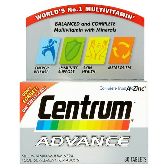 Grocemania | Centrum Advance 30s | Online Grocery Delivery