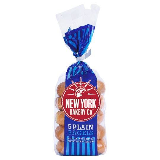 Grocemania | New York Bakery Bagels 5 Pack | Online Grocery Delivery London