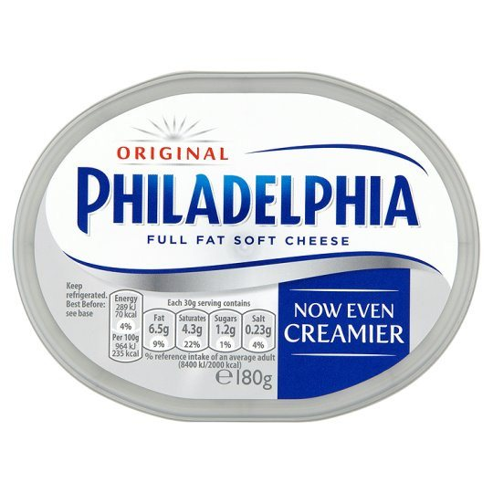 Grocemania Grocery Delivery London| Philadelphia Original Spread 180g