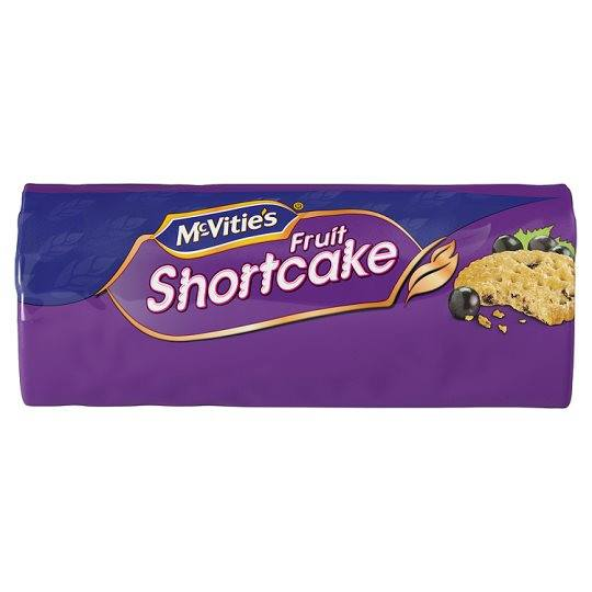 Grocemania Grocery Delivery London| McVitie's Fruit Shortcake 200g