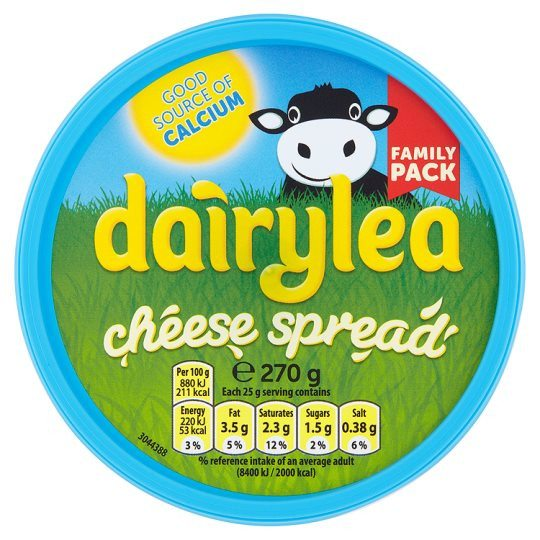 Grocemania Grocery Delivery London| Dairylea Cheese Spread 145g