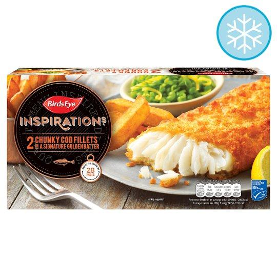 Grocemania Grocery Delivery London| Birds Eye 2 Chunky COD Fillets 200g