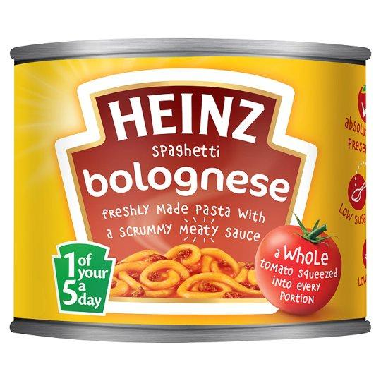 Grocemania Grocery Delivery London| Heinz Spaghetti Bolognese 200g