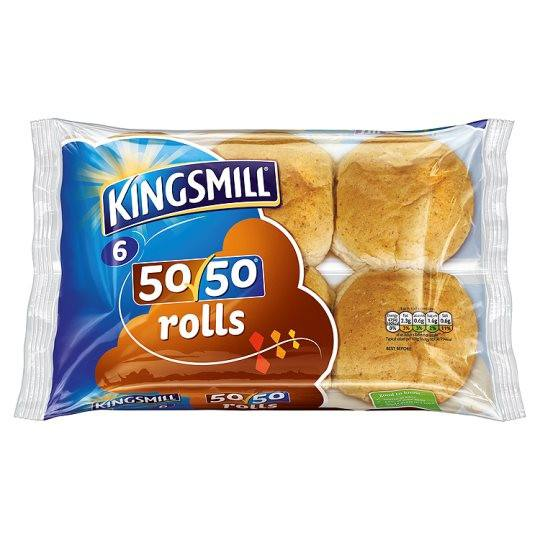 Grocemania | Kingsmill Rolls 6 Pack | Online Grocery Delivery London