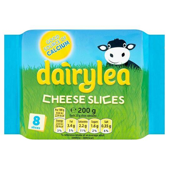 Grocemania Grocery Delivery London| Dairylea Slices 200g