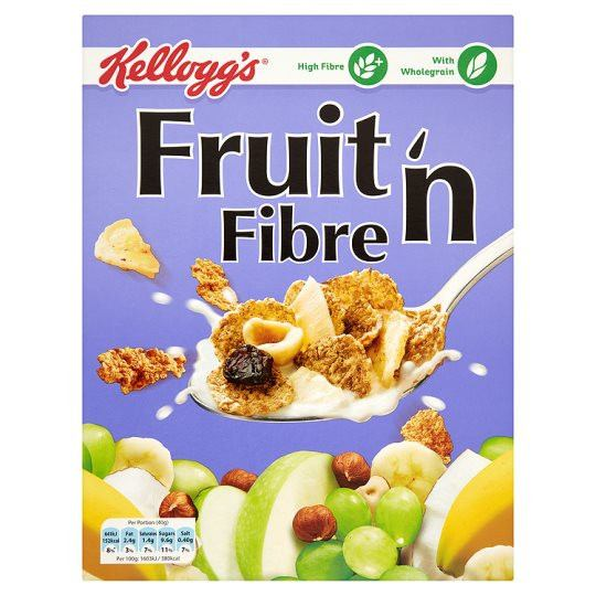 Grocemania Grocery Delivery London| Kelloggs Fruit 'n Fibre 750g