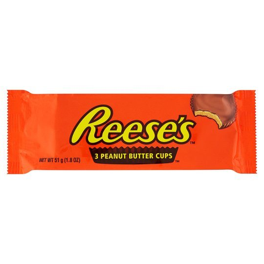 Grocemania | Reeses Peanut Butter Cups 3 Pack 51g | Online Grocery Delivery