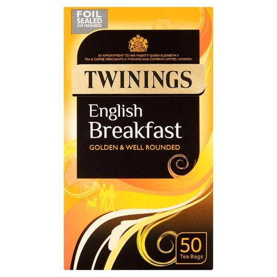 Grocemania Grocery Delivery London| Twinings 50's Tea Bags 125g