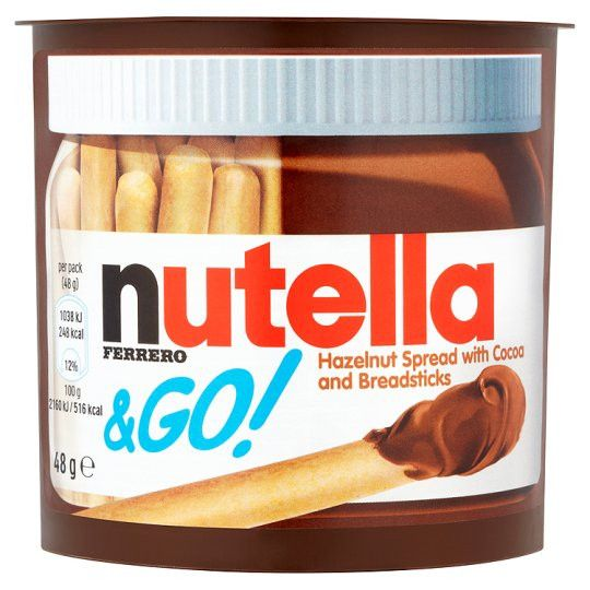 Grocemania Grocery Delivery London| Nutella And Go 48g