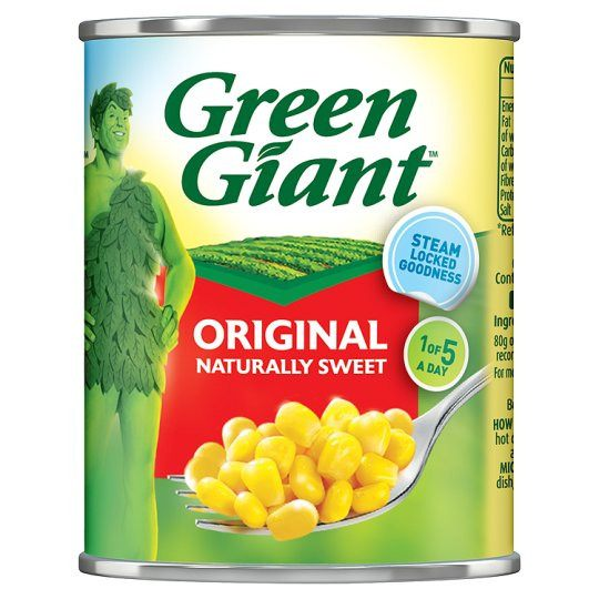 Grocemania Grocery Delivery London| Green Giant Original Sweet Corn 198g
