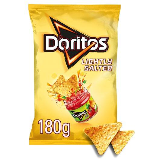 Grocemania Grocery Delivery London| Doritos Lightly Salted Tortilla Chips 180g