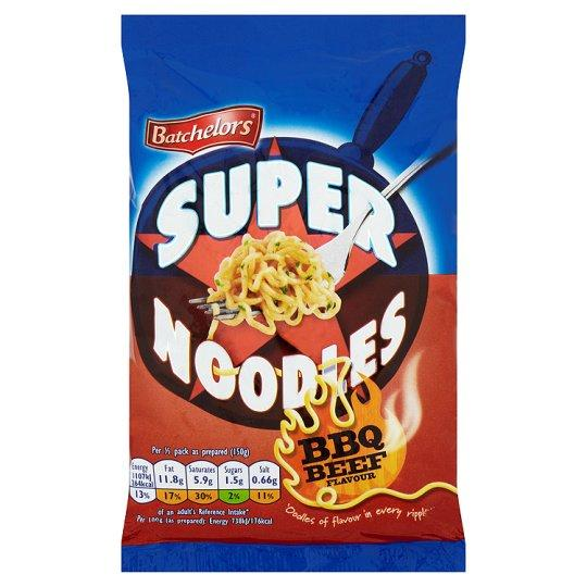 Grocemania Grocery Delivery London| Batchelors Super Noodles BBQ Beef 100g