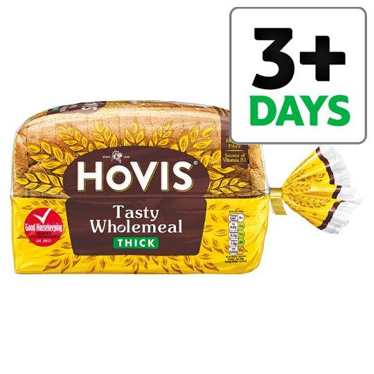 Grocery Delivery London - Hovis Wholemeal Thick Bread 800g same day delivery