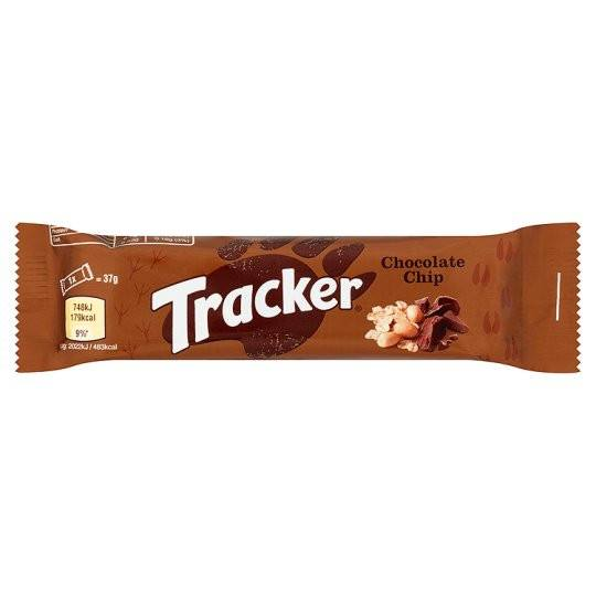 Grocery Delivery London - Tracker Cereal Bar Chocolate Chip 37g same day delivery