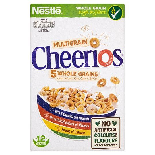 Grocemania Grocery Delivery London| Nestle Multigrain Cheerios 375g