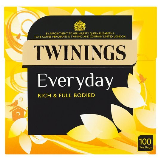 Grocery Delivery London - Twinings Everyday 100 Tea Bags 290g same day delivery
