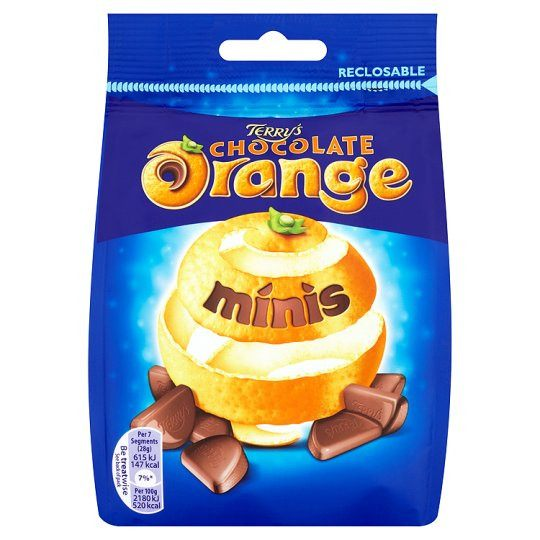 Grocemania Grocery Delivery London| Terrys Chocolate Orange 125g