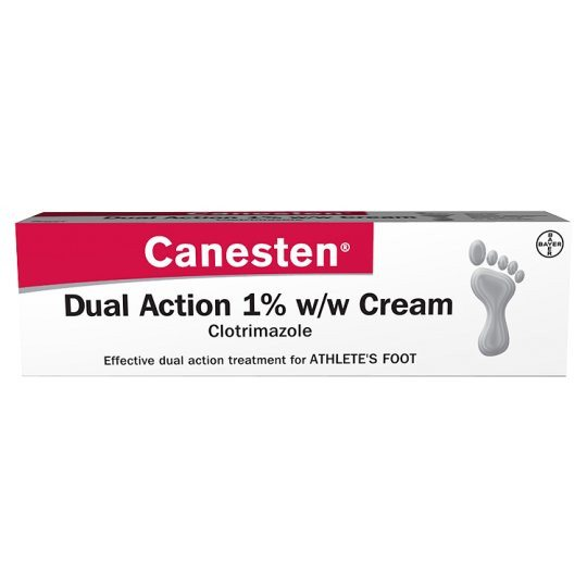 Canesten Athletes Foot Cream 15g - Grocemania