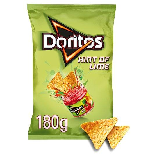 Grocemania Grocery Delivery London| Doritos Hint Of Lime Tortilla Chips 180g