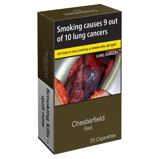 Grocery Delivery London - Chesterfield Red Superkings 20 Pack same day delivery