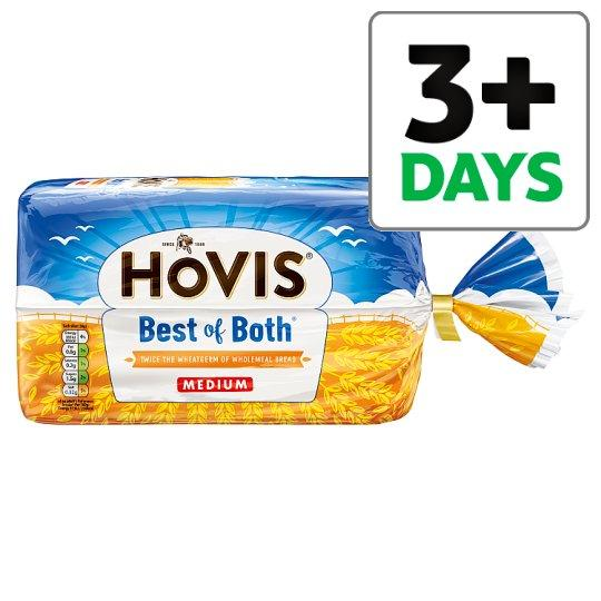 Grocemania Grocery Delivery London| Hovis Best Of Both Medium Bread 750g