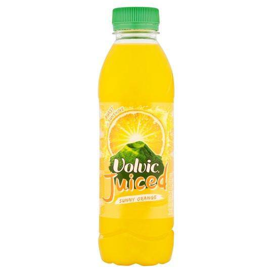 Grocemania Grocery Delivery London| Volvic Juiced Drink 500ml