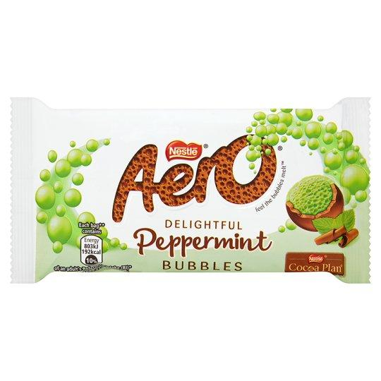 Grocemania Grocery Delivery London| Aero Milk Peppermint Bar 36g