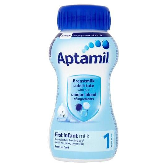 Grocemania Grocery Delivery London| Aptamil 1 First Milk 200ml Ready To Feed Liquid