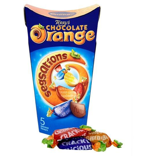 Grocery Delivery London - Terry's Chocolate Orange Segsations Carton 330g same day delivery
