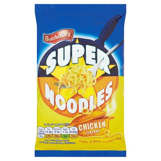 Grocemania Grocery Delivery London| Batchelors Super Noodles Chicken 100g