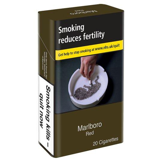 Grocery Delivery London - Marlboro Red King Size 20 Pack same day delivery