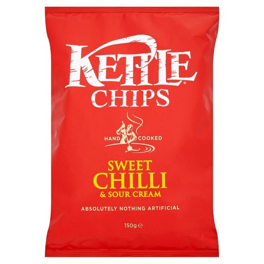 Grocery Delivery London - Kettle Sweet Chilli & Sour Cream 150g same day delivery