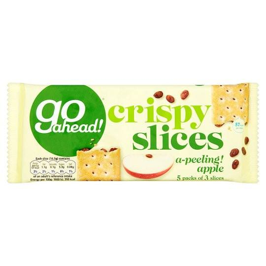 Go Ahead Crispy Apple 5 Pack 195g - Grocemania